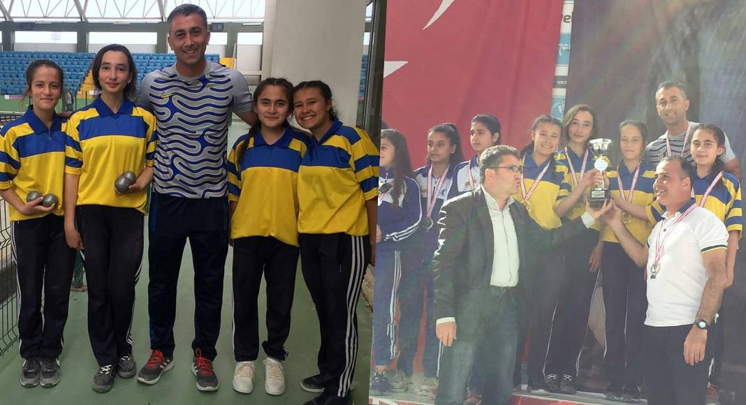 BOCCE TÜRKİYE ŞAMPİYONU DENİZLİ'DEN
