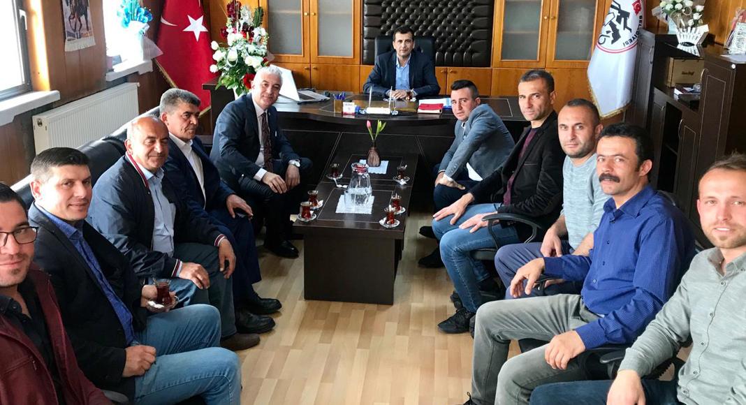 CHP'Lİ VEKİL SANCAR'DAN ATLI'YA ZİYARET