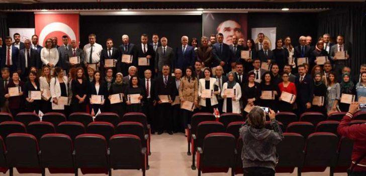 OKULLARA BERAT BELGELERİ VERİLDİ