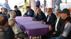 VALİ KARAHAN BAKLAN'I ZİYARET ETTİ