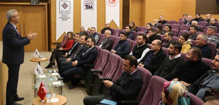 DENİB'TE ISPM-15 UYGULAMALARI TOPLANTISI