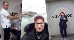 BULGARİSTAN'DAN GELDİ GÖZLÜĞÜNÜ DENİZLİ'DE BIRAKTI