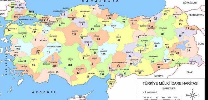 DENİZLİ'DE KORONAVİRÜS VAKA SAYISI