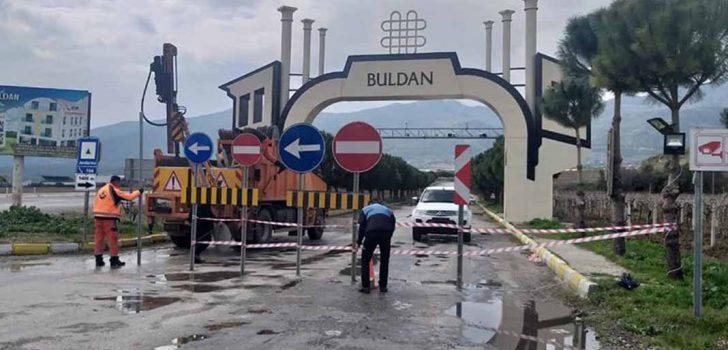 BULDAN'DA MEYERE GİRİŞİ TRAFİĞE AÇILIYOR