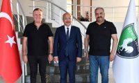DENİZLİSPOR'A KARDEŞ KULÜP ZİYARETİ