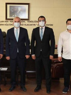 DENİZLİM DERNEĞİ'NDEN BAŞKAN ZOLAN'A ZİYARET