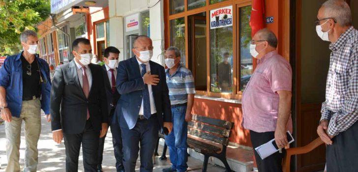 VALİ ATİK'TEN BABADAĞ'A ZİYARET