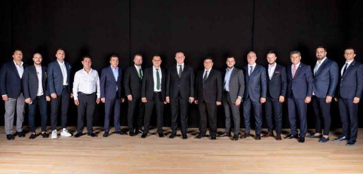 DENİZLİSPOR'DA GÖREV DAĞILIMI YAPILDI