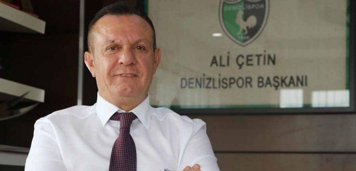 DENİZLİSPOR'DA HEDEF BELİRLENDİ