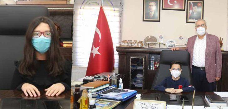 ÇAMELİ'DE BAŞKAN ARSLAN KOLTUĞU KAPTIRDI!