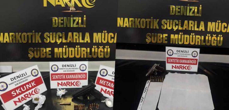 DENİZLİ'DE UYUŞTURUCU OPERASYONUNDA 7 KİŞİ TUTUKLANDI