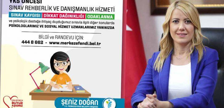 MERKEZEFENDİ'DE YKS ÖNCESİ SINAV DANIŞMANLIK HİZMETİ