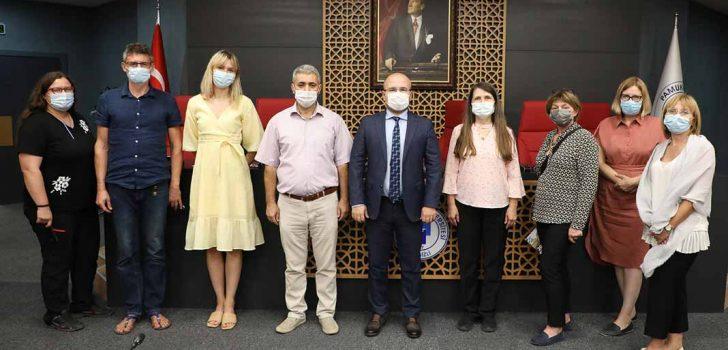PAÜ BİYOM, POLONYALI BİLİM İNSANLARINI AĞIRLADI