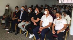 TUTUKLANMAYA TEPKİ GÖSTEREN 50 GENÇ CHP'YE GEÇTİ